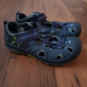Merrell Hydro Blue Leather Sandals